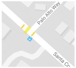 Safer Palo Alto Way Crosswalk
