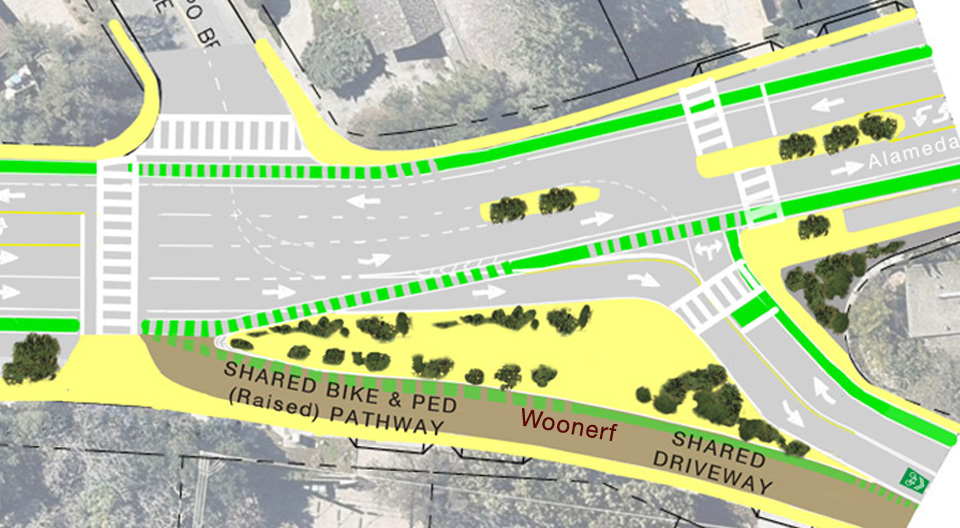 A community design for the Y - Safer and naturally slower traffic
