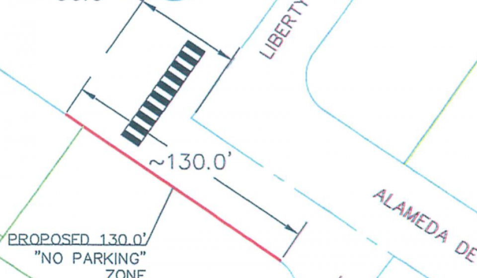 Parking Removal on Alameda