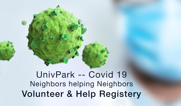 Covid-19 -- Neighbors helping Neighbors