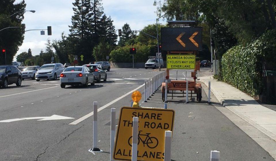 Safety Improvement trial at the Santa Cruz/Alameda Y