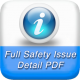 Provides full Safety Issue details as PDF